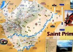Plan de Saint Prim