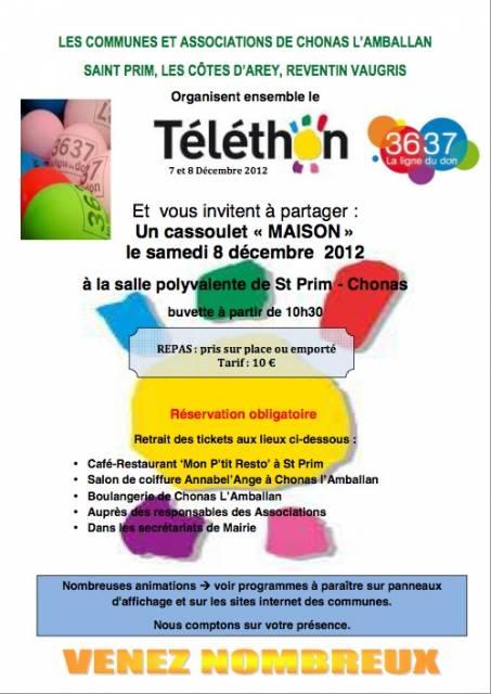 Téléthon 201 à Saint Prim
