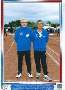 Jean-Marc ROUVEURE et Gilbert GERIN