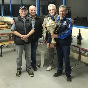 JM Rouveure et G. Gerin vainqueurs 32 doubles à Loire/Rhône