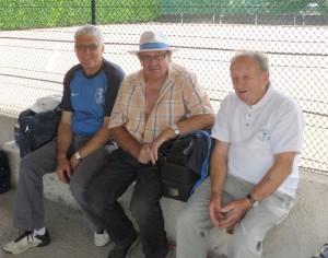 14 juillet 2012, une pause avec Gérard Guironnet et J-Pierre Fayat