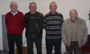 en 2017 lors de sa victoire des concours du mercredi, avec Gérard Guironnet, Maurice Rodriguez et Michel Deyres