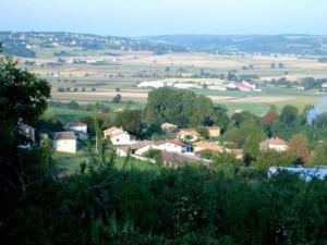 La partie ouest [nl]du hameau de Toisieu