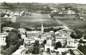 La village dans les années 60